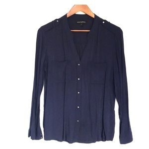Like new Navy blue blouse from Banana Republic.